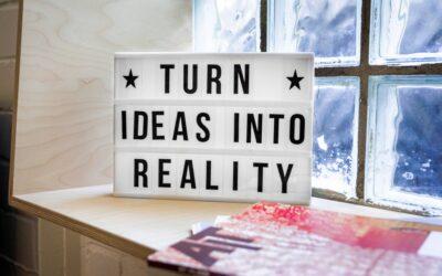 Dromen realiseren? Denken in kansen!